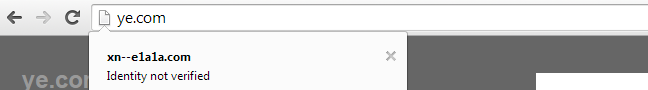 ssl sertifikatai idn domeno tikrinimas